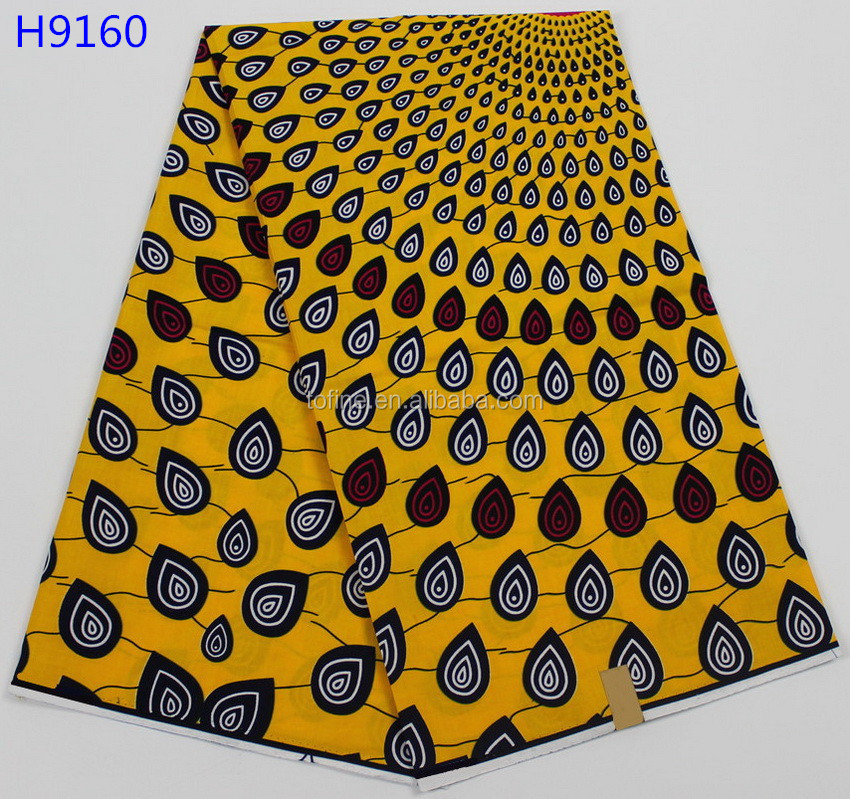 2017 high quality wax hollandais wax print fabric african for making cloth
