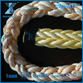 8-strand PP and Polyester mixed marine mooring rope