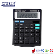 Multifunctional GTTTZEN CT-777S high quality desktop calculator 12digits for wholesales