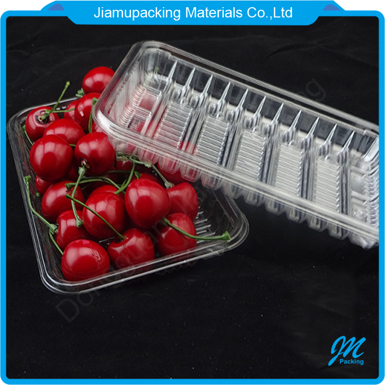 Wholesale disposable plastic PP blister fresh fruit/ meat packing tray