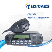 best price 25w 45w vhf uhf long distance mobile two way car radio gm338