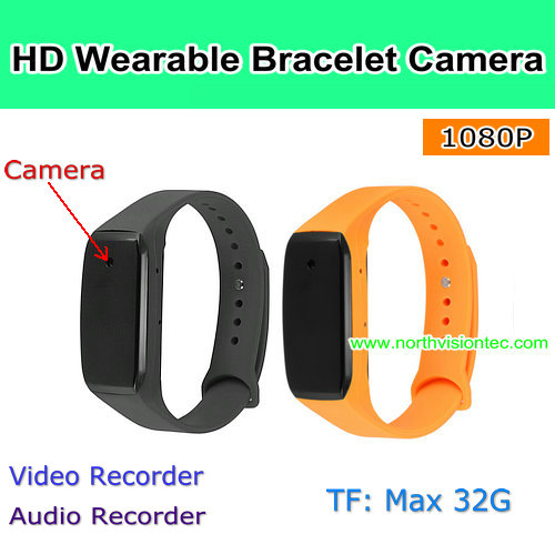 Smart Watch 1080P Wearable Bracelet Camera with fashionable design