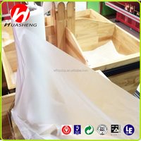 HDPE bio-degradable clear heavy duty custom printed plastic flat bag on roll for packing