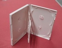 High quality Unique design fancy plastic custom Cheap CD/DVD Case with freely sample
