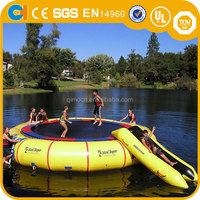 Hot Inflatable Water Catapult Blobs, Inflatable Water Blob Trampoline Used in Lake