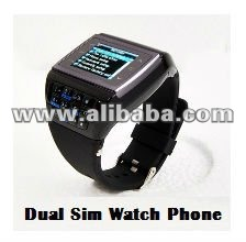 ET-3 Dual Sim Quad Band Watch Phone