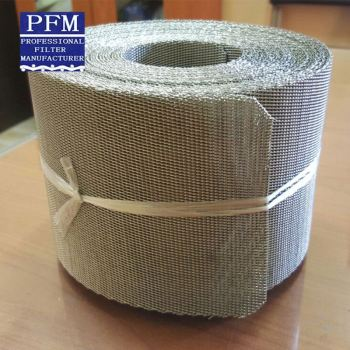 Stainless Steel Mesh Belt for Plastic Extruder, Screen Changers