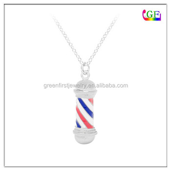 Barber Pole Necklace