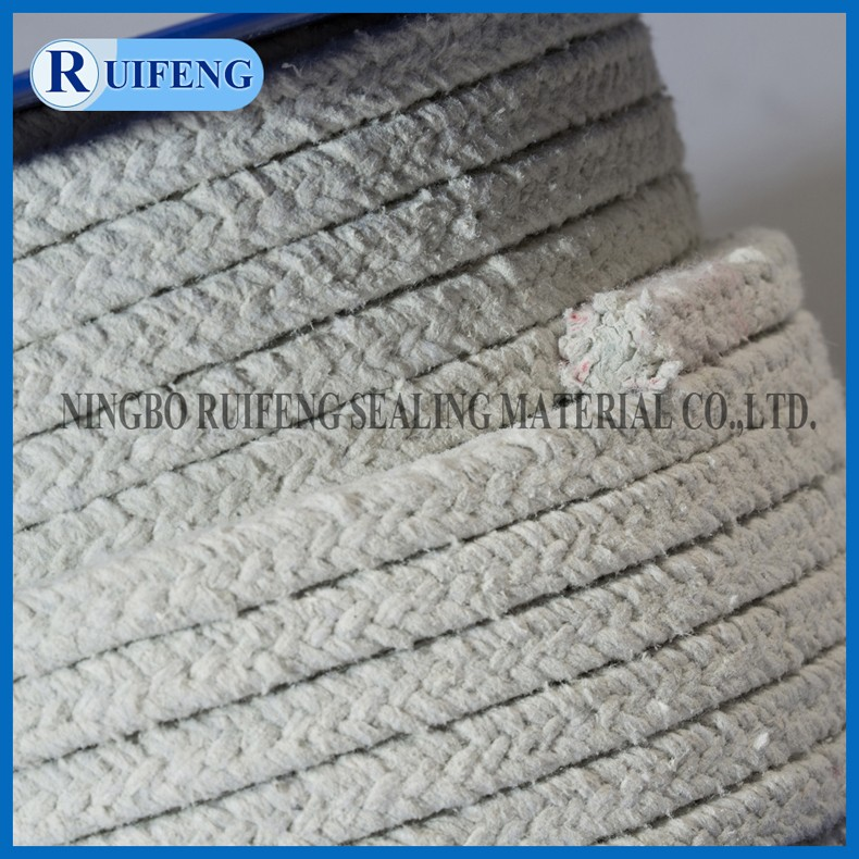 Dust free rock wool packing white color A grade