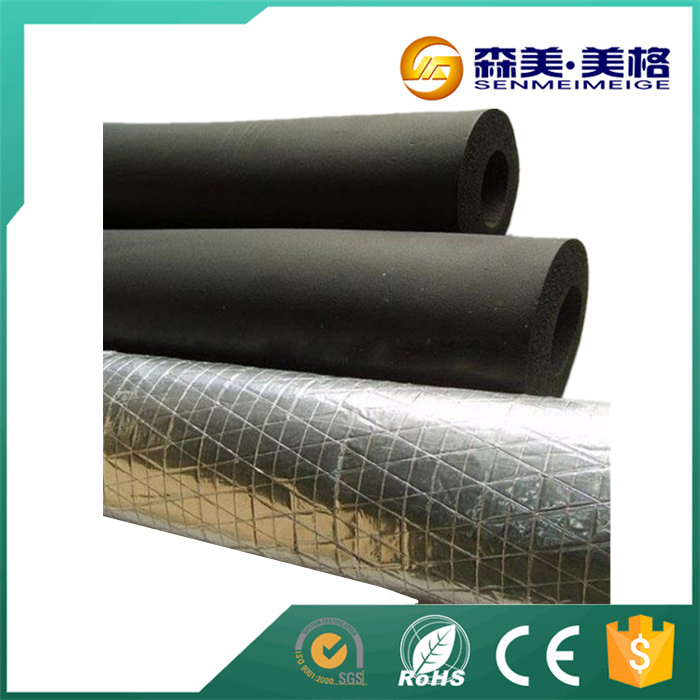 China supplier slieves hollow core coverings insulation pipe foam glass