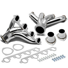 SMALL BLOCK SBC HUGGER SHORTY STAINLESS STEEL EXHAUST RACING HEADER FOR CHEVY V8 ENGINES283, 305, 327, 350, 400