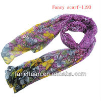 Promotional muffler scarf with printing