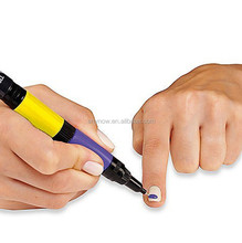 Eco-friendly 2 IN 1 Double Ways Drawing Nail Art Polish Drawing Pen