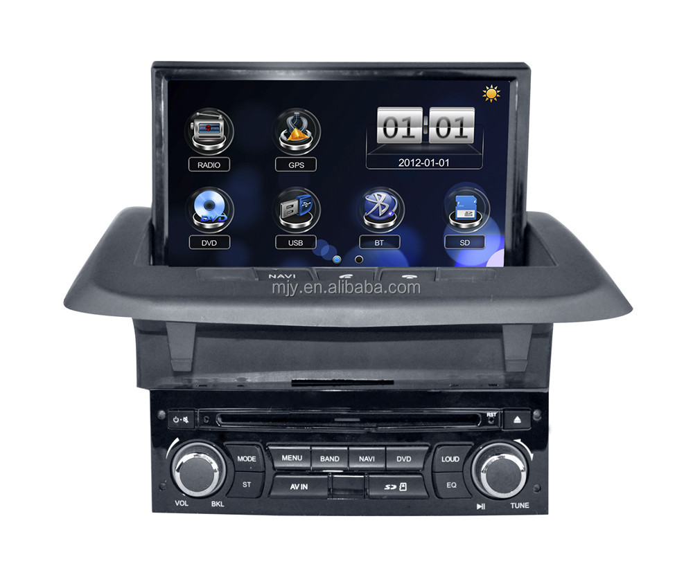 Car DVD supplier from China Digital Touch Screen DVD with GPS OEM car DVD for Year 2014 Peugeot 3008