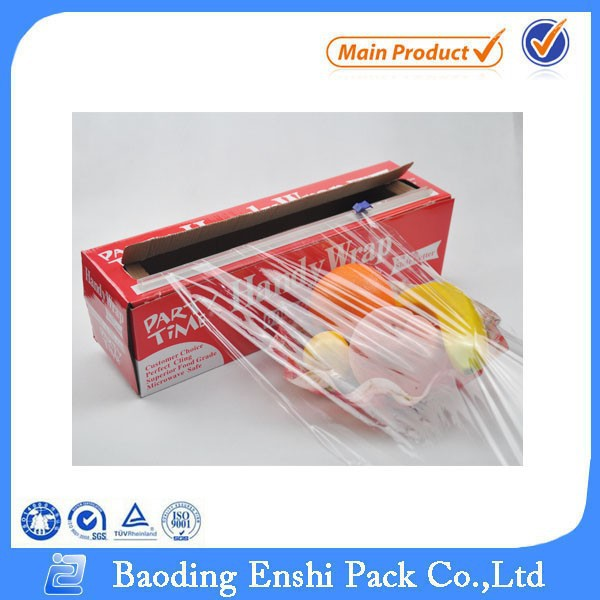 Clear LDPE vershoudfolie/voedsel wrap/plastic stretch film voor food grade