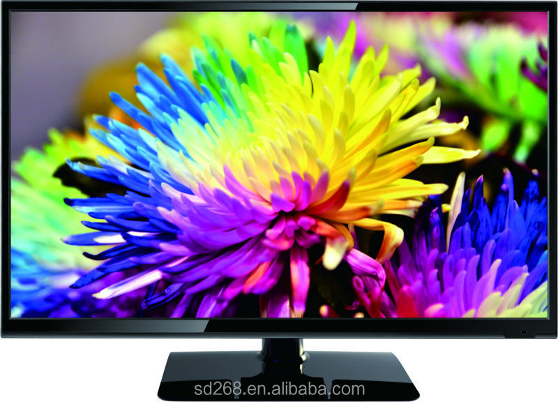 Ultra slim bezel television 32 inch eled tv with CMO/AU panel HD 720P 1 year warranty
