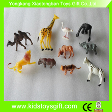 cheaper plastic wild animal toy/small animal set
