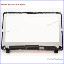 Laptop Glass For HP Pavilion 15-R030nr Touch + LCD Screen Digitizer with bezel