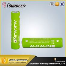Promotion alkaline batteries aaa 1.5v lr03p aaa um4 dry battery
