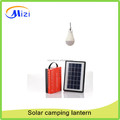 3W Solar camping light with solar panel