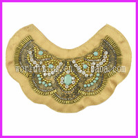 Embroideried Handmade Sequin Crystal Rhinestone Diamante Clothing Embellishment WTA122