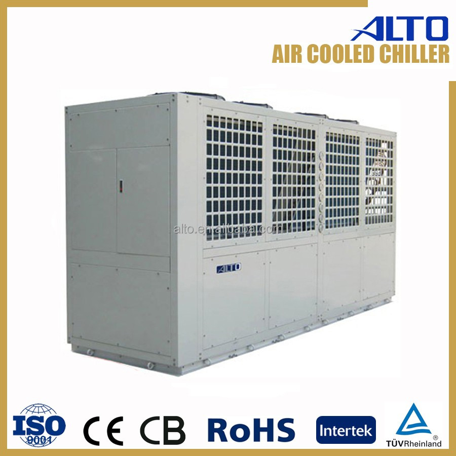 High efficiency water chiller aquarium 152kw 3ph air cooled
