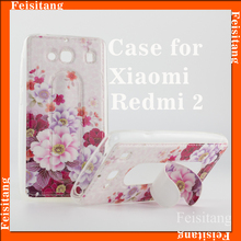 Picture pattern Custom Design leather holster TPU Phone Case For XIAOMI Redmi 2