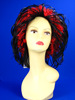 F6355 noble music festival wig,crazy hair wig,carnival wigs