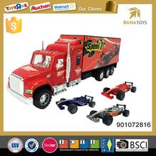 Classic friction truck toy simulation container model