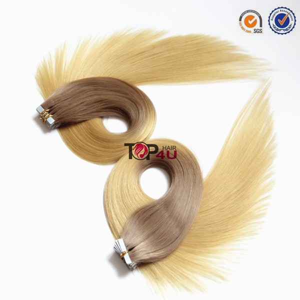 wholesale tape hair raw unprocessed virgin brazilian tape hair