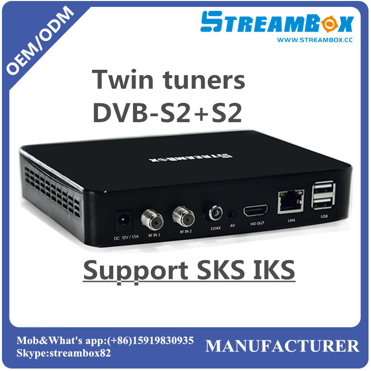Hi3716 ACM VCM IPTV IKS SKS Stalker DVB-S2+S2 Mini receptor decodificadors satelite decoder hd tv digital