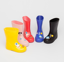 2017 new cheap rain boot kids children boys girls matt finish