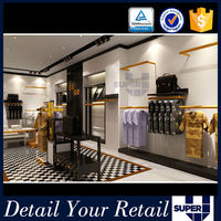 exclusives fitting and decoration 2016 Golden supplier clothes retail store design