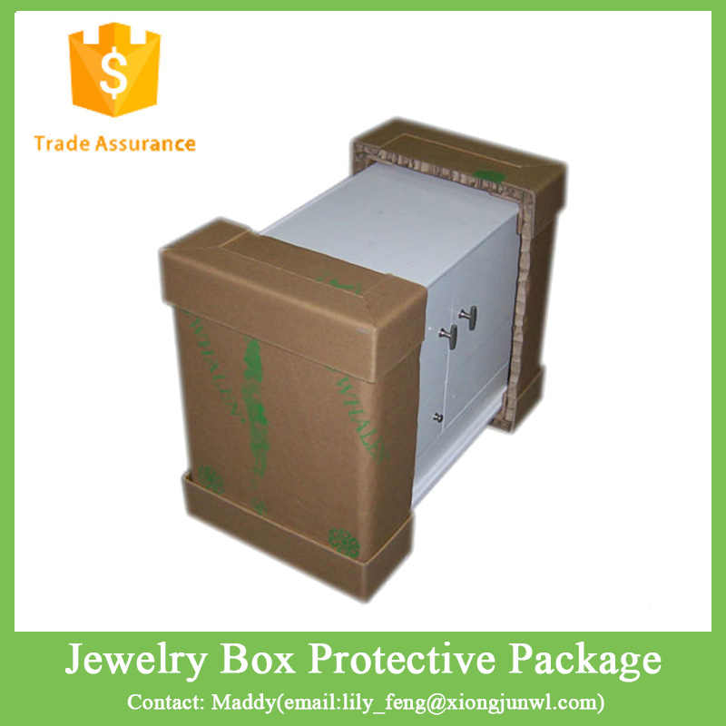 Jewelry Honeycomb Paper Custom Box Protective Packaging