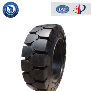 high quality most popular 13 inch forklift solid tyres rubber tire airless tires for sale
