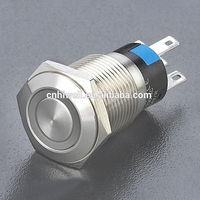 High quality ring illuminated convenient control pushbutton/reliable quality dot-illuminated switch