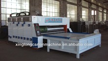 multi-color printer slotter /corrugated cardboard machine