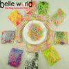 Hot selling !Elastic Small Loom Rainbow Rubber Band Bracelets