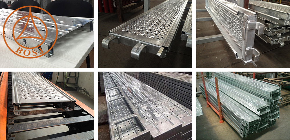 1.0-2.0mm Thickness Steel Walk Board Roll Forming Machine