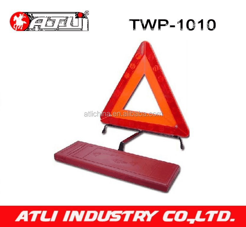 E11 Certification traffic car reflective safety warning triangle for safety