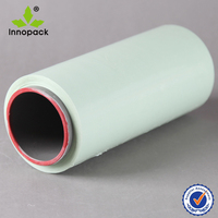 PE green anti uv hay bale wrap film for packing wholesale