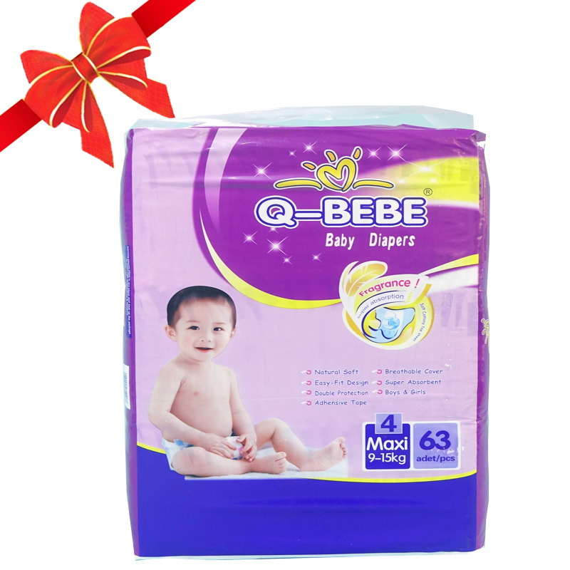 Alibaba china supplier soft care baby diapers low price for indonesia