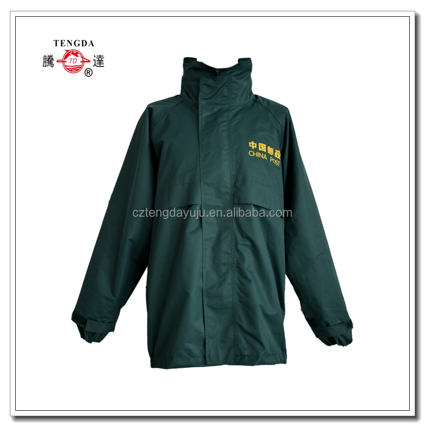 china factory adult polyester branded raincoats