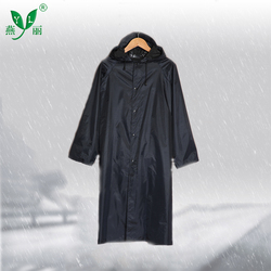 Good quality Adults Durable Nylon Waterproof Outdoor Long Raincoat