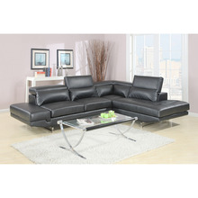 italian design luxury exclusive coner modern leather sofa bed