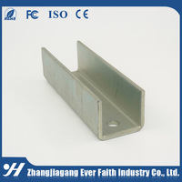 Slotted Galvanized Steel High Quality Mild Steel Strut Universal Channel Steel