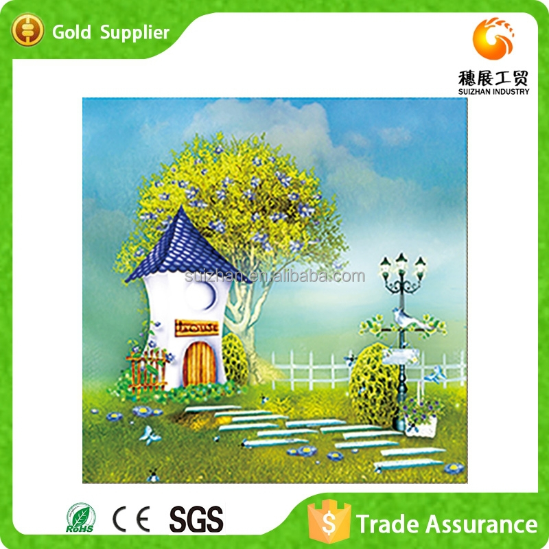 With more than 10 years manufacture experience kids room wall decor art diamond painting children oil painting