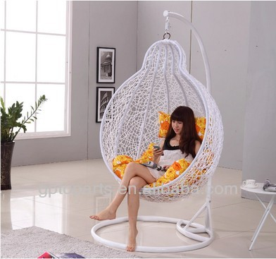 Appeso sedia con cuscino dondolo forma di zucca sedia for Poltrona appesa