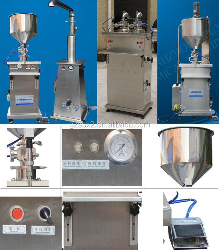 Newest hot selling liquid filling machine/tomato paste filling production lines