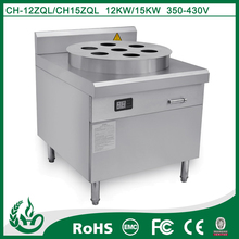 Commercial energy effcient induction food steamer for kitchen